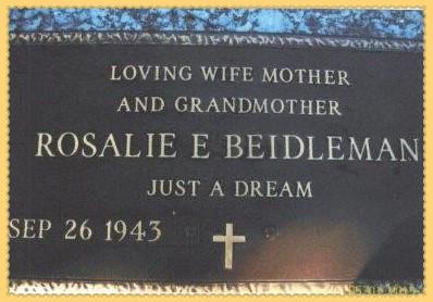 Rosalie Beidleman